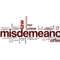 Misdemeanor word cloud
