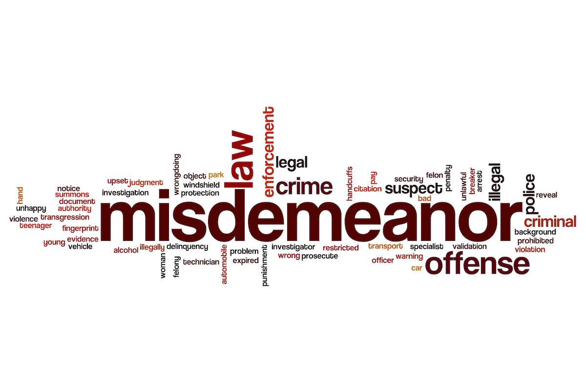 How To Handle A Misdemeanor Charge In Washington - Criminal