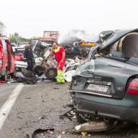 Four Car Accident