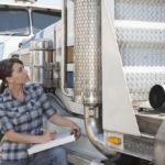 Truck inspector